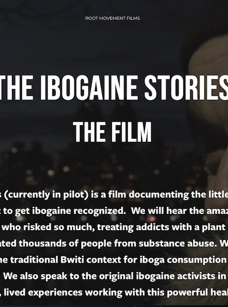 Ibogaine stories movie