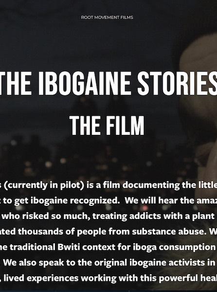 Ibogaine stories movie